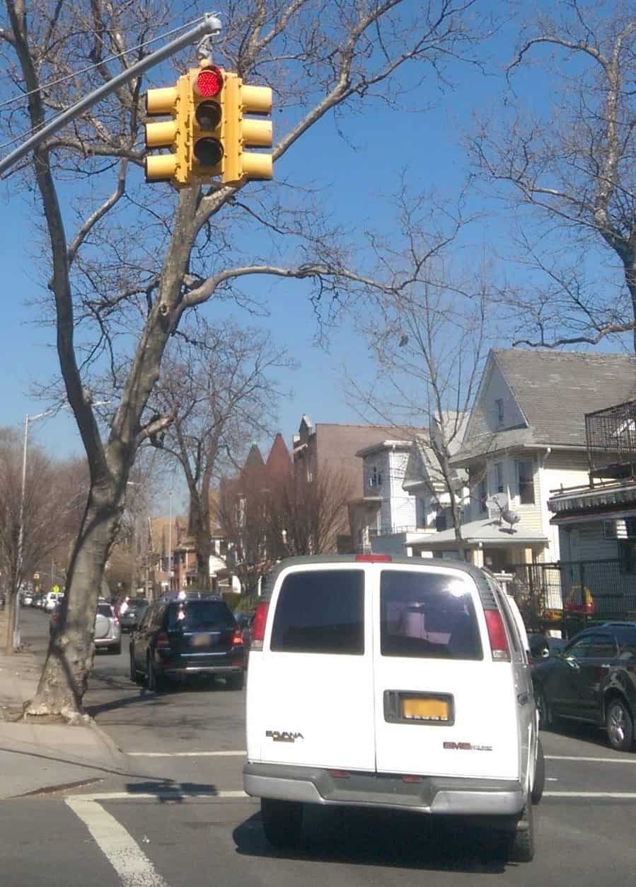 How Much Is A Red Light Camera Ticket Violation In New York City?