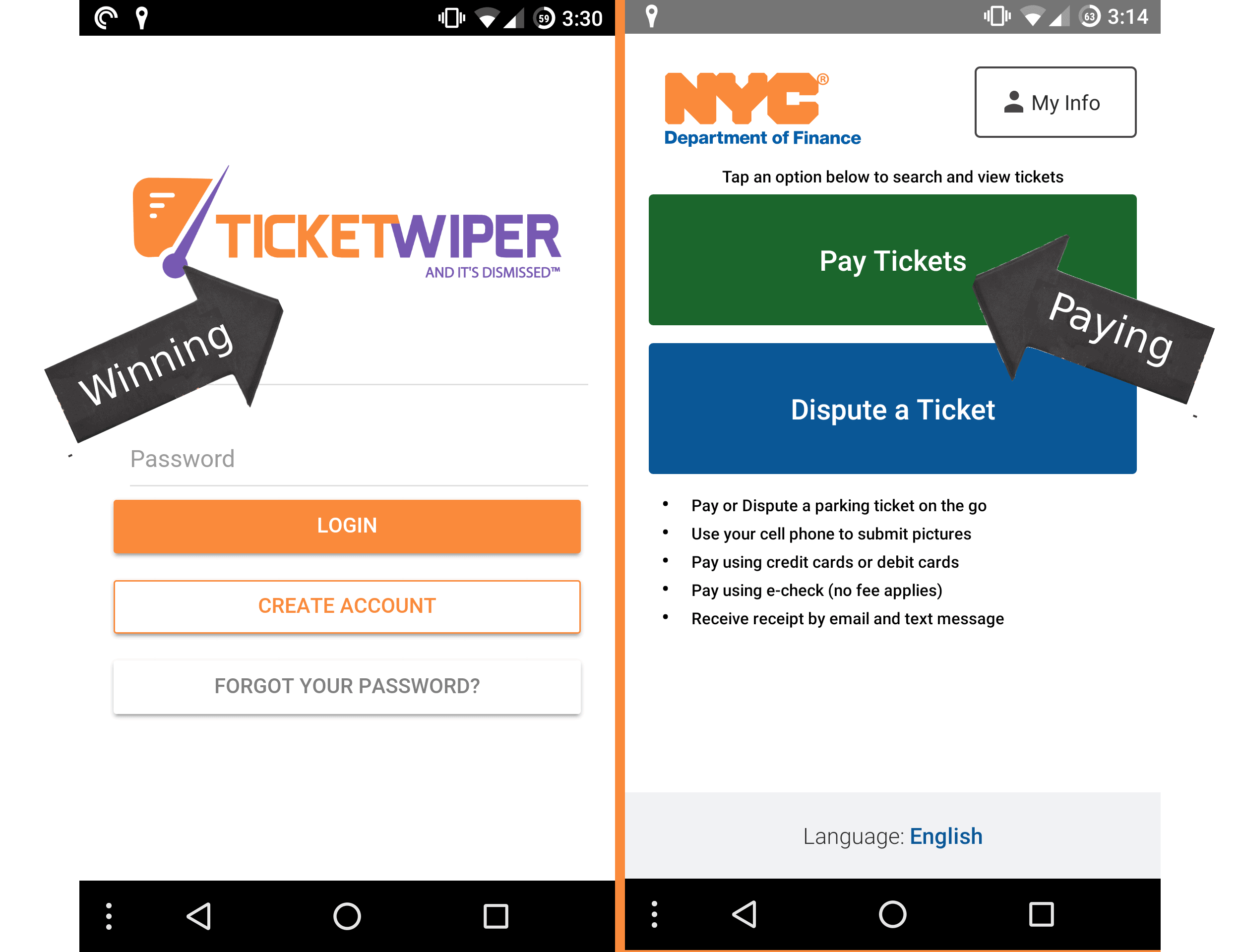 Should I Use Ticket Wiper or NYC s New Parking Ticket App