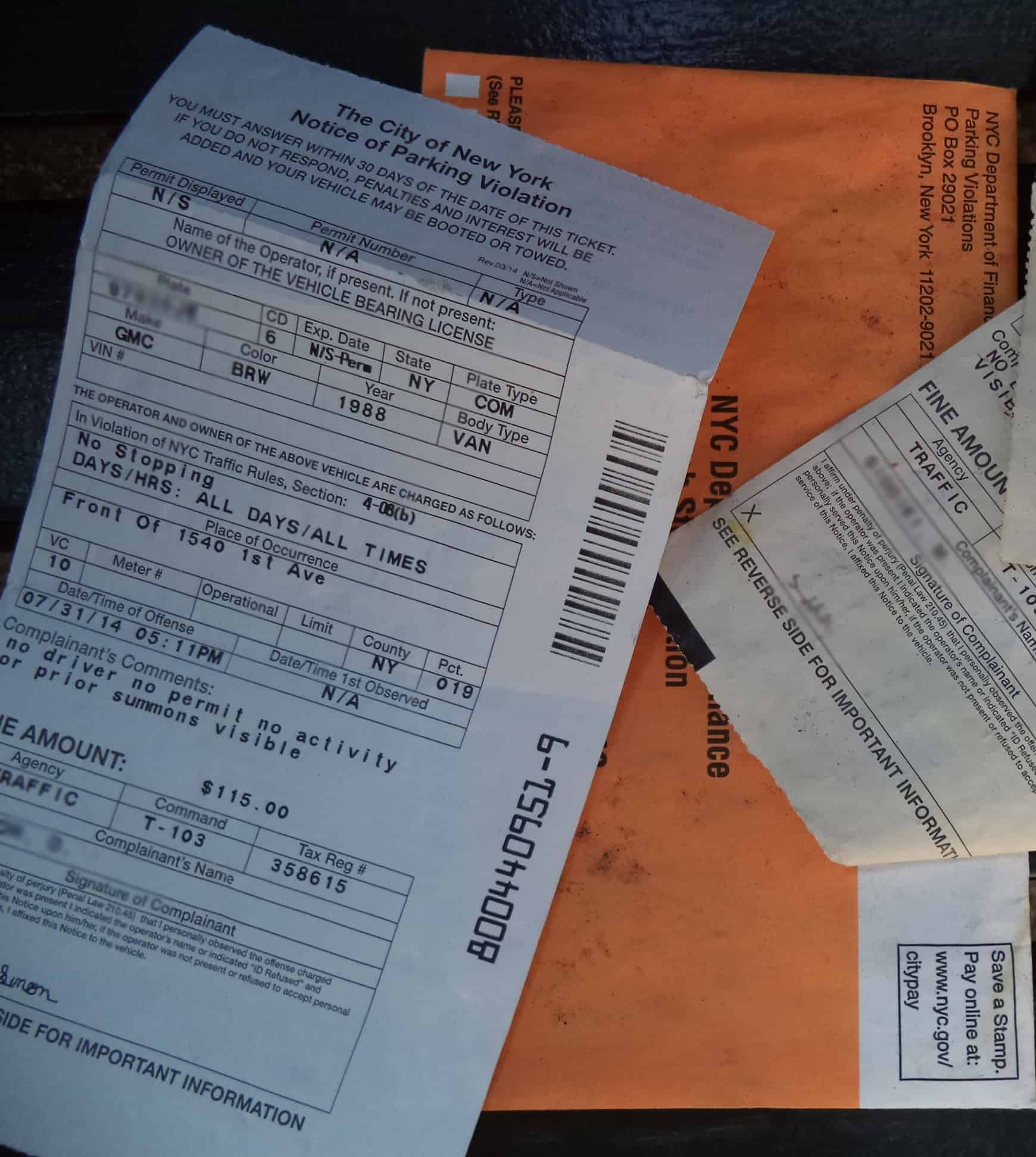 Traffic Ticket Nyc >> How Can I Be Sure My Parking Ticket Is Real Ticket Wiper