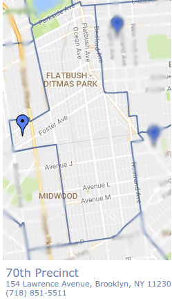 The Top Ten Most Common Parking Violations for Flatbush, Ditmas Park Ditmas Park Brooklyn Map on