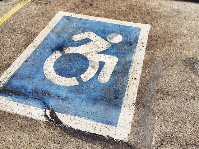 Parking Spot Gets Turned Into a Handicap Spot With Car Still In It