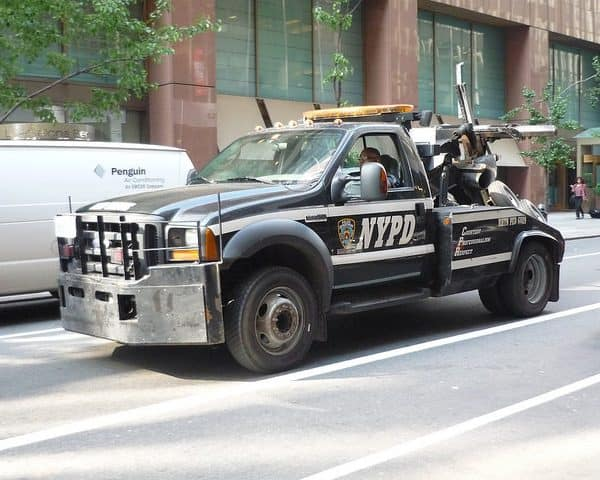 new york tow truck